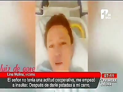 man runs over woman while arguing