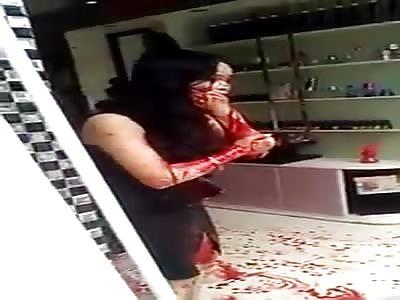SHOCKING - Women bleeding everywhere after attack