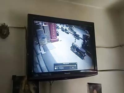 Man murdered in the street