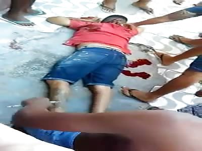Thug got killed in a favela