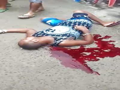 Man Still Leaking Blood After Being Brutally Murdered