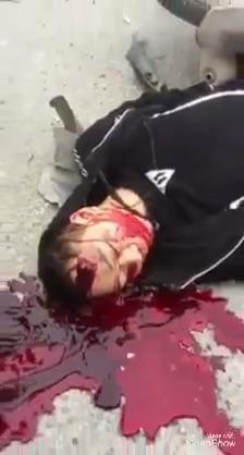 Biker Agonizes to Death in Blood After Crash