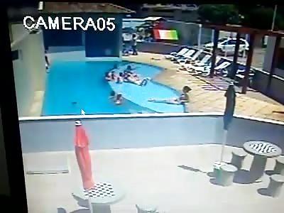 Unattended Kid Drowns in Pool