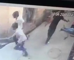 CCTV Murder in India