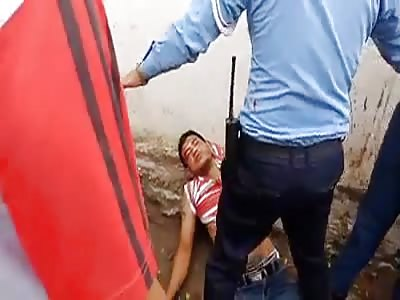 Man Brutally Beaten in Cambodia