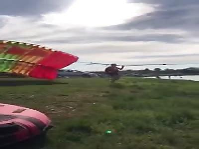Paragliding Failure