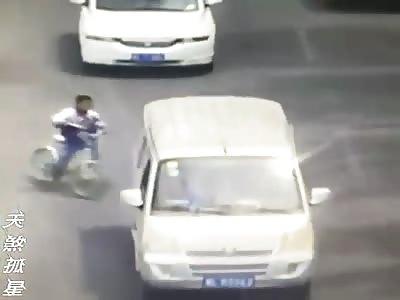 Kid on Bike Killed by Truck + Aftermath