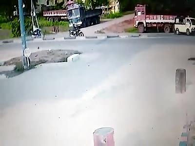 Stupid Biker in Peddapally