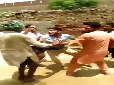Indian Beating