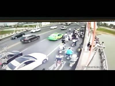 Depressed Woman Jumps From Bridge