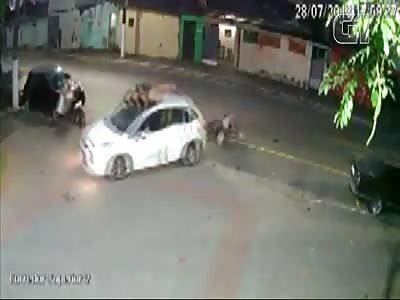 Brutal Bike Crash Brazil