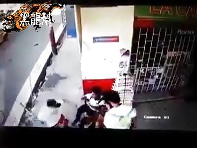 CCTV: Kid Brutally Beaten by Rivals