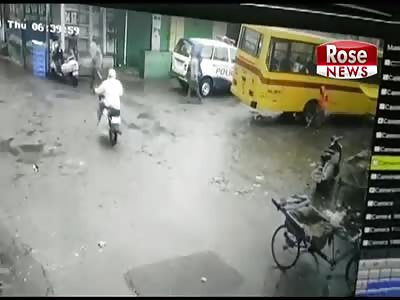 Cop Car Kills Street Sweeping Woman