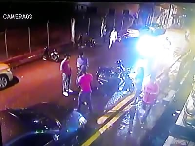 CCTV Murder in San Francisco de Macorís