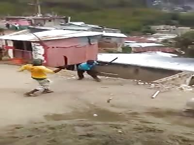 Machete War in Jamaica