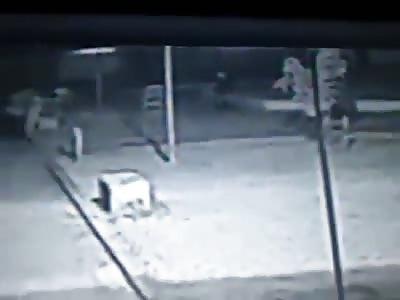 CCTV Murder in Macapa (Bad)