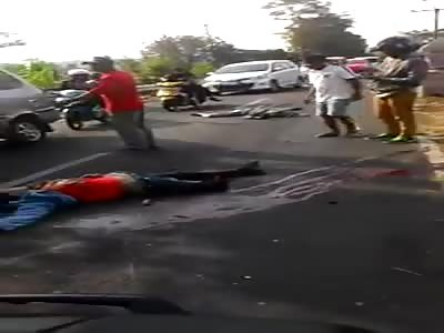 Biker Lost a leg in Mandirancan