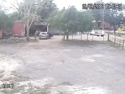 CCTV Murder of Youth in Várzea Grande