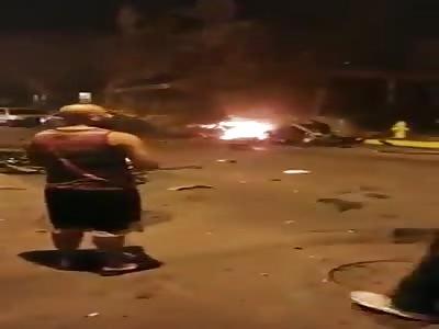 Car Bomb Aftermath in Pennsylvania