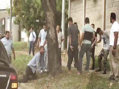 Thief Gets Beaten and Strangled