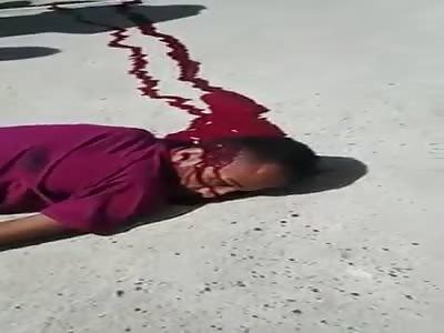 Brutal Murder Victim Slowly Dying