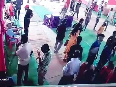 CCTV Murder of History Sheeter in Allahabad