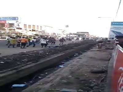 Bad Angle of Nigerian Man Killed by Mob