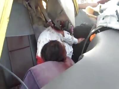 Bus Crash in Bahrain (Angle 2)