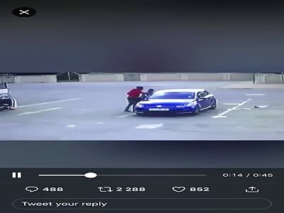 CCTV Murder: Man Killed for his Car