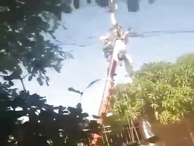 Man Died Shocked to Death