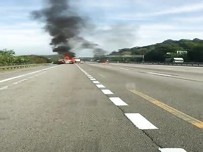 Man Burns Alive in Petrol Tanker Accident
