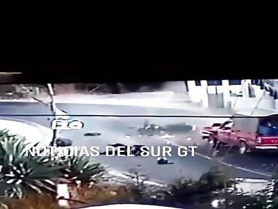 Shocking CCTV Accident