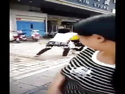 China Street Attack