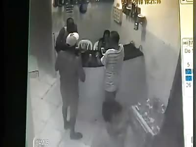 Quick Assassination Caught on CCTV [Brazil]