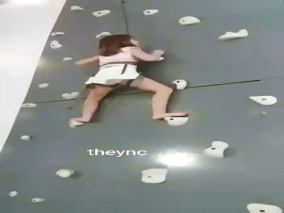 Teen's Shocking Fall from Indoor Climbing Wall