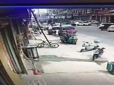 Man receives electric shock