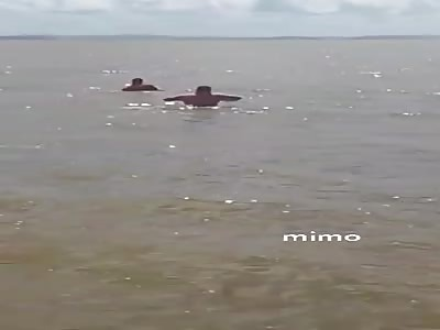 Lifeless man found in the sea