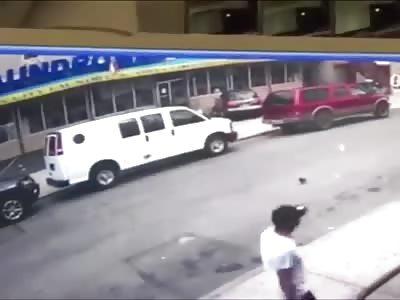 Little Girl Run Over in Front of her Mom