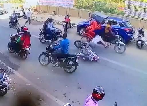 Motorbike Accident !
