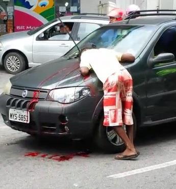 Car cleaner shot dead on the street