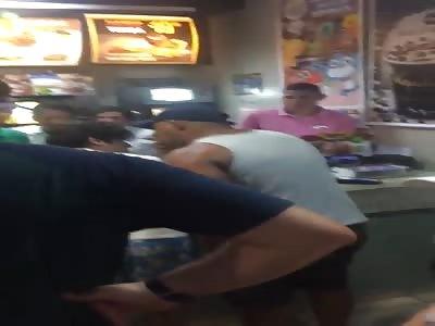 Confusion at McDonald's Brazil