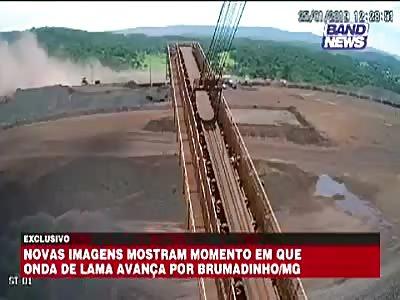 Brazil dam break- 110 dead 238 missing