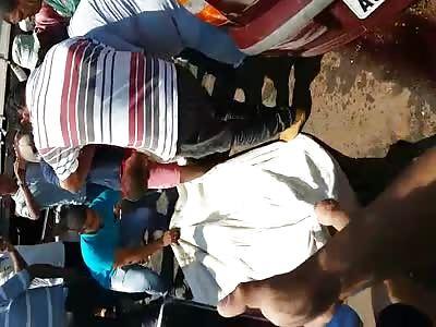 Victim trapped in hardware - Brazil