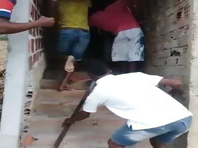 Black rapist receives his deserved