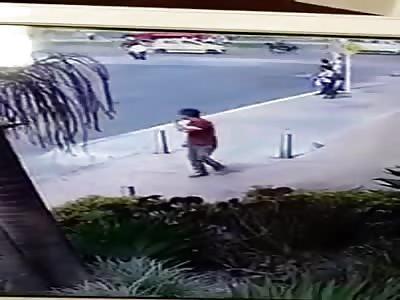 Biker Breaks his Spine
