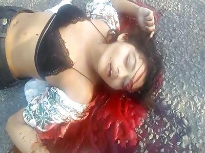 Pretty Girl Doesn't Survive After a Brazilian Hitman Job