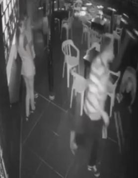 Firing Squad Pulls Up on Bar Patrons