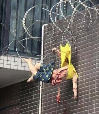 8th Floor Suicide Jump Aftermath