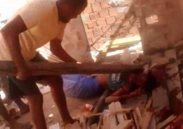 Guy Clubbed In Head Til Dead by Rival Gang