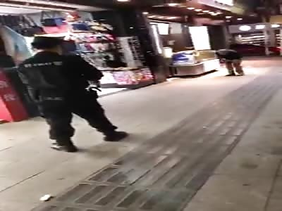 thief get shot in the leg